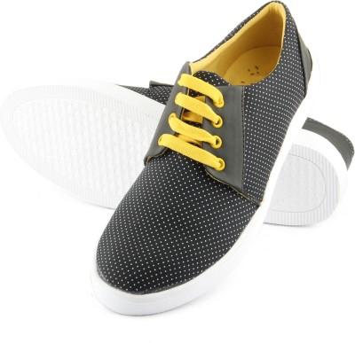 TASHI Off Black Cool Canvas Shoes