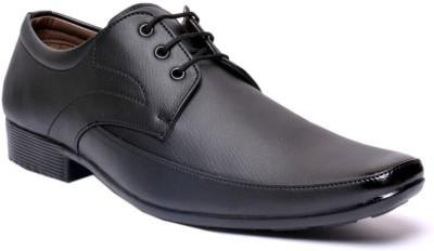 Anshul Fashion Anshul fashion Mens Black Formal Fine Quality Lace up Shoes Lace Up(Black)
