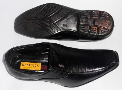 Genetics Slip On Shoes(Black)