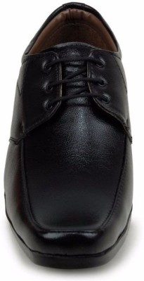 M-Toes M- Toes MT1033 Black Men Formal Shoes Slip On