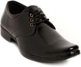 Lockey Black Lace Up Shine Formal Shoes ...