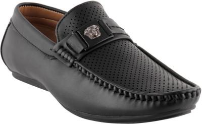 Smart wood 3502 Blk Loafers Shoe