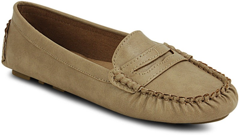 Get Glamr Stylish Loafers(Beige)