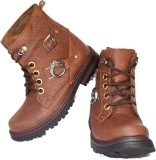 Leather Like Enfield Boots