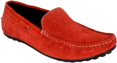 Merashoe Msc8021-Red Loafers