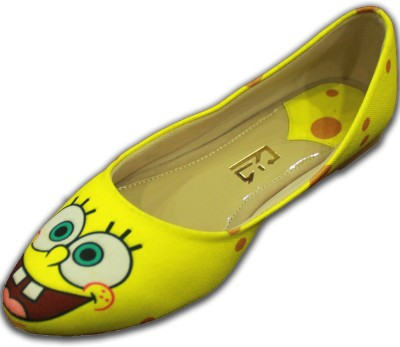 F-Gali Customized Spongebob Ballerinas Bellies