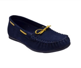 Sir Corbett Loafers(Blue, Yellow)