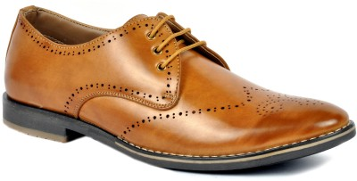 Footlodge Simple and Good Looking Corporate Casuals(Tan)