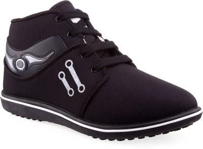 Wepro Satya Black Silver Casual Shoes