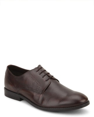 Arden Oliver Punched Lace Up Shoes