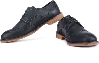Famozi Men Corporate Casuals(Black)