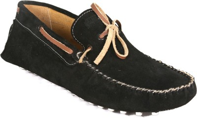Araanha Suede Leather Driving Boat Shoes