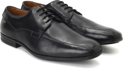Clarks Derry Over GTX Black Leather lace up