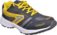 Hitcolus Dark Grey & yellow Running,Walking Sports Shoes Running Shoes, Walking Shoes(Grey, Yellow) best price on Flipkart @ Rs. 499