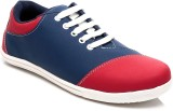 FNB F-25 Casual Shoes (Blue, Red)