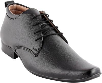 Smart wood 2002 BLK Lace Up Shoes