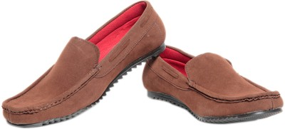 Pede Milan Wov Style- Brown Loafers