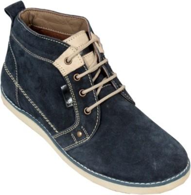 Ztoez Blue Boots