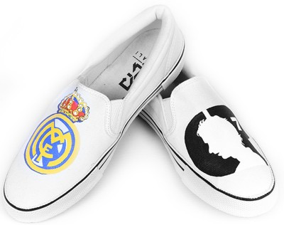 F-Gali Real Madrid Casual Shoes