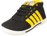 Star Style Sports Sneakers Shoes (Black,...