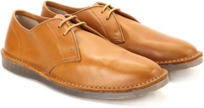 Clarks Darning Walk Cognac Leather Sneakers