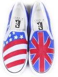 F-Gali The British Slip-on Shoes Canvas ...
