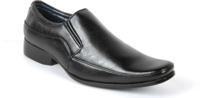 Toruzzi Awesome Black Slip On Shoes
