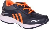 Leo-Max Running Shoes (Blue, Orange)