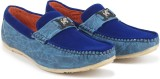 Footista Porche Loafers (Blue)