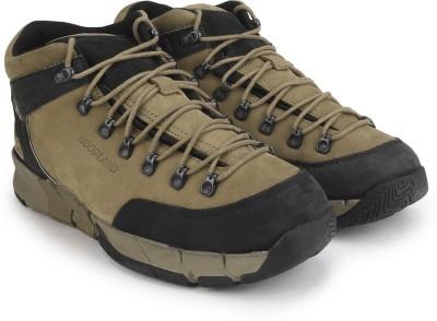 Woodland Men Boots(Black, Khaki)