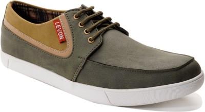 Levon London Levon Greenock Grays Sneakers