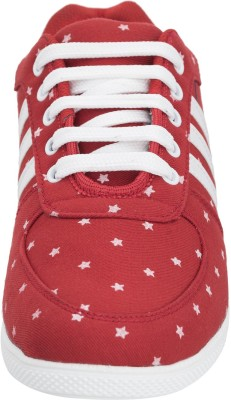 Advin England Red Lace Style Shoes Sneakers