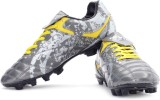 Nivia Spark Football Shoes (Grey, Yellow...