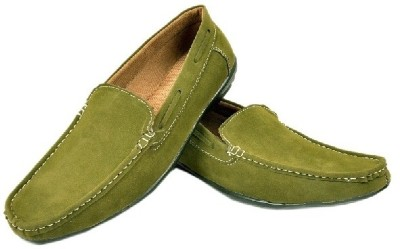 Fashion Zone Green Loafers