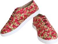 Tryfeet Flower Print Sneakers(Multicolor)