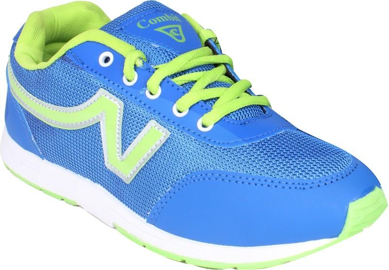 Combit Running Shoes(Blue, Green)
