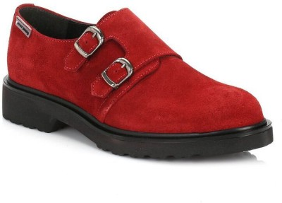 4ever young Womens Burgundy Hidra Suede Shoes Casual Shoes
