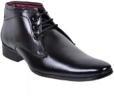 Fescon Energetic Lace Up Shoes (Black)