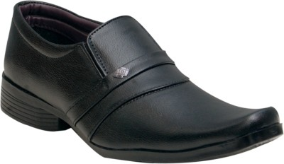 Oora Black Cobra Slip On Shoes