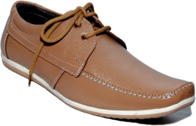 Rocozo Leather Sturd Casual Shoes