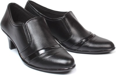 Bare Soles Slip On Shoes(Black)