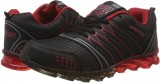 STEEMO Running Shoes (Black, Red)