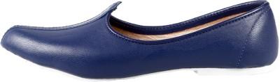 Retailxpert Blue Punjabi Jutis