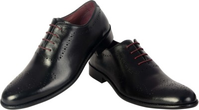 Urban Nation SINGLE PATTERN LUXURY BROGUE SHOE WITH HANDMADE SOLE Lace Up