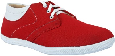 Drivn Mens Casual Shoes(Red)
