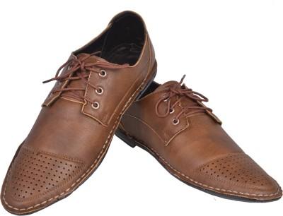 Azzaro Black Corporate Casual Shoes