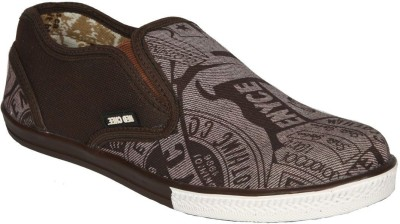 Just Flats Mens Brown Casual Shoes