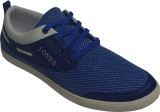 Jones Smith Netted Casual Shoes (Blue)