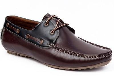Peponi Dual Tone Boat Shoes
