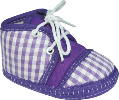 Ole Baby Striped Printed With Lace Closure Casual Shoes